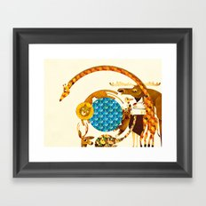 The Race Framed Art Print