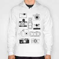 cameras Hoodies featuring Cameras by lusym