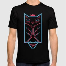 Hoo! Black MEDIUM Mens Fitted Tee
