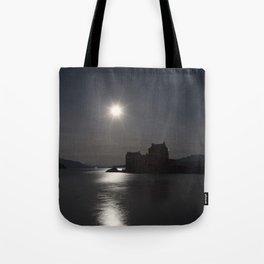 Eilean Donan Castle by Moonlight Tote Bag