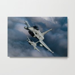 Eurofighters Metal Print