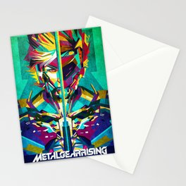 solid snake Stationery Cards