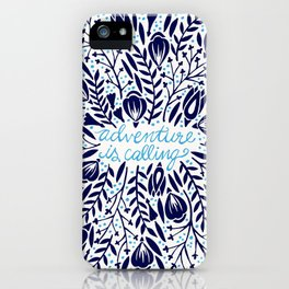 Adventure is Calling – Porcelain Palette iPhone Case