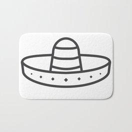 Sombrero Bath Mat