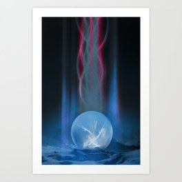 Solitary Without Art Print