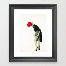 Hello Flower Framed Art Print
