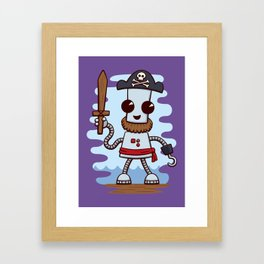 Pirate Ned Framed Art Print