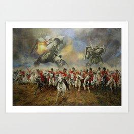 Waterloo Forever! Art Print