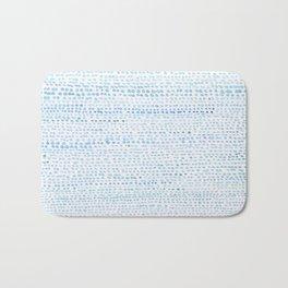 BLUE/GREEN DOTTED PATTERN  Bath Mat