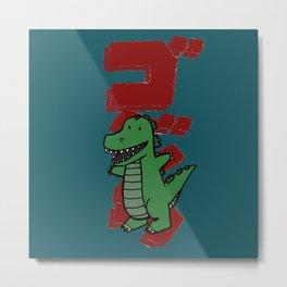Lil' Godzilla  Metal Print