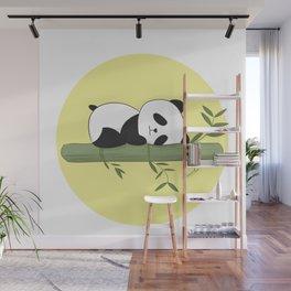 Sleeping panda Wall Mural