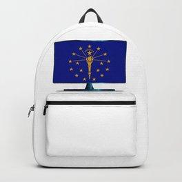 Indiana Flag TV Backpack