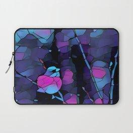 Junco Neon Pink Purple by CheyAnne Sexton Laptop Sleeve