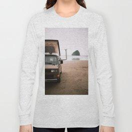 Cape Kiwanda Beach Westfalia Long Sleeve T-shirt