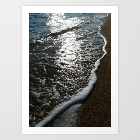 WAVE  3 Art Print