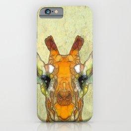 abstract giraffe calf iPhone Case
