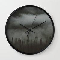 british Wall Clocks featuring British Columbia  by Tasha Marie