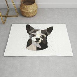 Black Chihuahua Rug