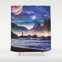 Desolate Coast Shower Curtain