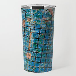 Odessa old map Travel Mug