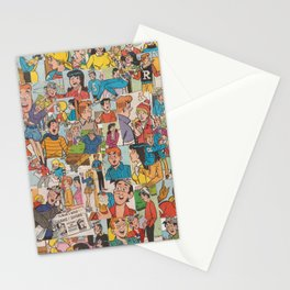 Archie Comics Collage #2 Stationery Cards
