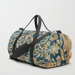 Sarouk  Antique West Persian Rug Print Duffle Bag