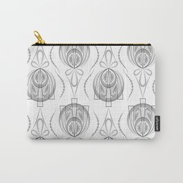 Art Deco 40 . Light Grey background Forever . Carry-All Pouch