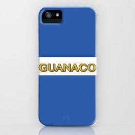 Guanaco - El Salvador Flag iPhone Case