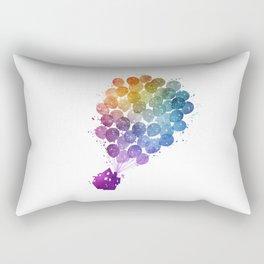 Up! - Watercolor Rectangular Pillow
