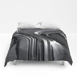 Black metal Comforters