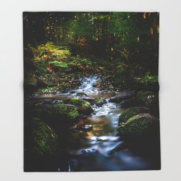Reality lost Throw Blanket