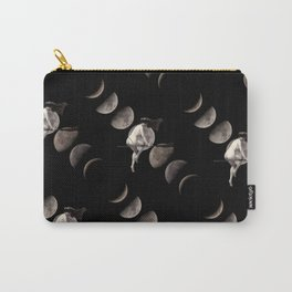 Moon Phases with Vintage Witch Carry-All Pouch