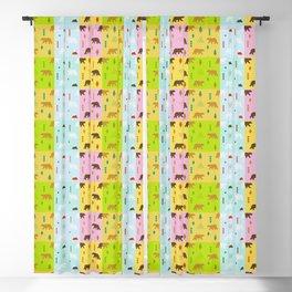 Beautiful Bears (Pattern) Blackout Curtain