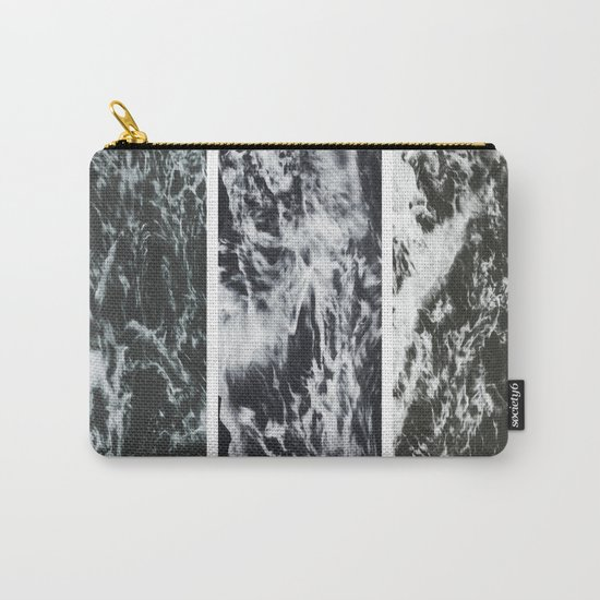 Saltwater Trytych Var II - blacks Carry-All Pouch