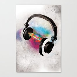 feeling sound Canvas Print