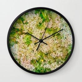 Little flower extravaganza Wall Clock