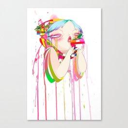 Byte Canvas Print