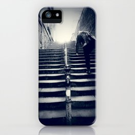 heavy today, blue tomorrow iPhone Case