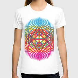 4 Corners of Abundance (wide) T-shirt