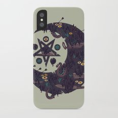 The Dark Moon Compels You to Fuck Shit Up Slim Case iPhone X