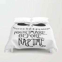 Nightmare Before Naptime Duvet Cover
