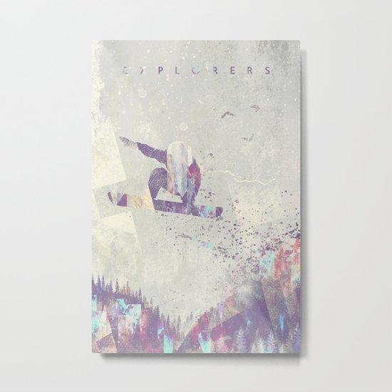 Explorers IV Metal Print