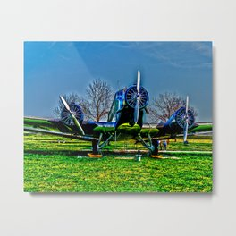 Junkers Yu 52 Metal Print