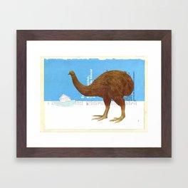 The Last Moa Framed Art Print