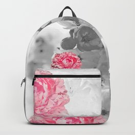 ROSES PINK WITH CHERRY BLOSSOMS Backpack