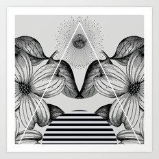 VESPERTINE ii Art Print