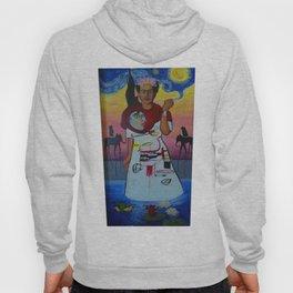 Frida-Basquiat-Van Gogh-Keith Haring-Claude Monet-Dali-Picasso Mesh Hoody