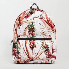 Tropical pink dream of pineapples Backpack