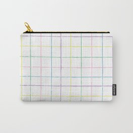 Painterly Stripes Carry-All Pouch