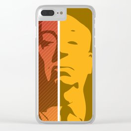 Hitchcock – Genius Quotes Clear iPhone Case